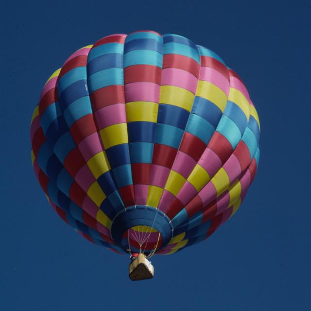 """HOT AIR BALLOON 2"" stock image"