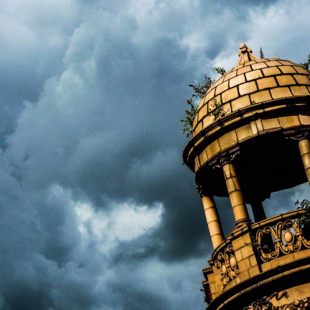 """""""Decaying Minaret"""" stock image"""