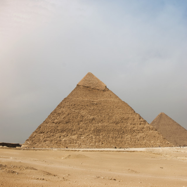 """The Great Pyramid of Giza"" stock image"