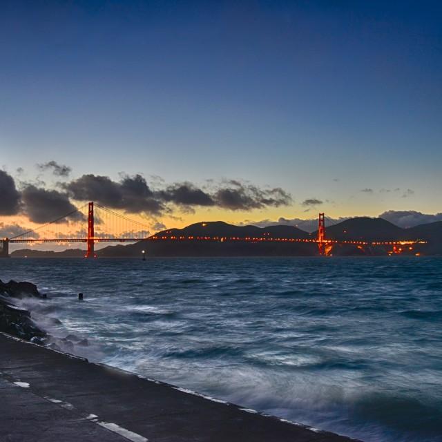 """Golden Gate Bridge 6"" stock image"