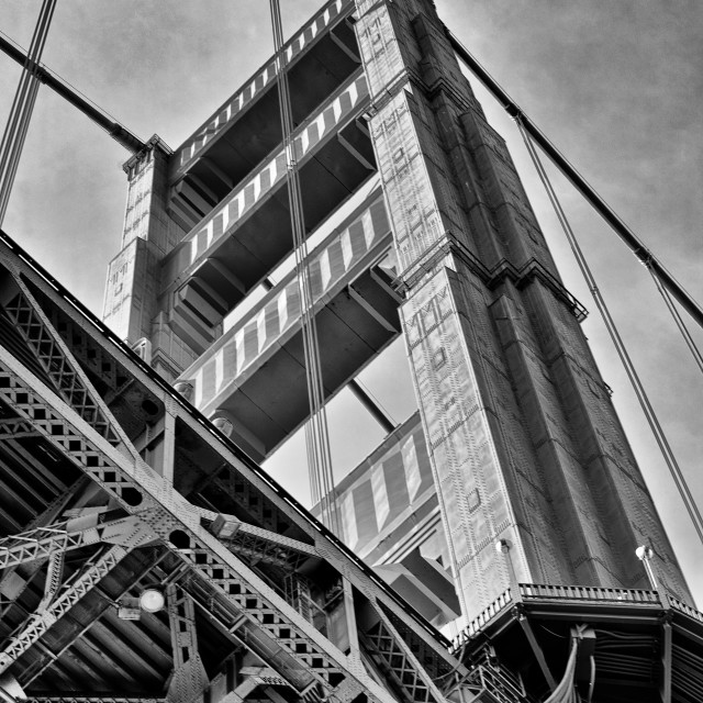 """Golden Gate Bridge 4"" stock image"