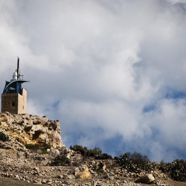 """Ta Kenuna Tower, Nadur, Gozo"" stock image"