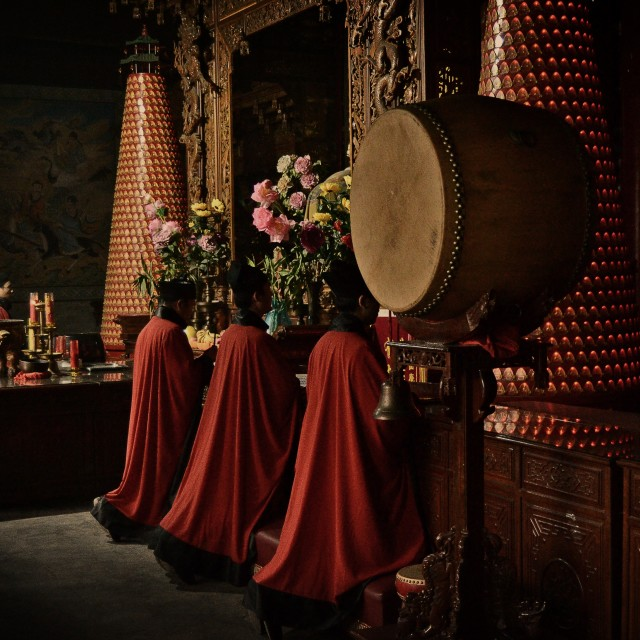 """Lama Temple, Yonghegong"" stock image"