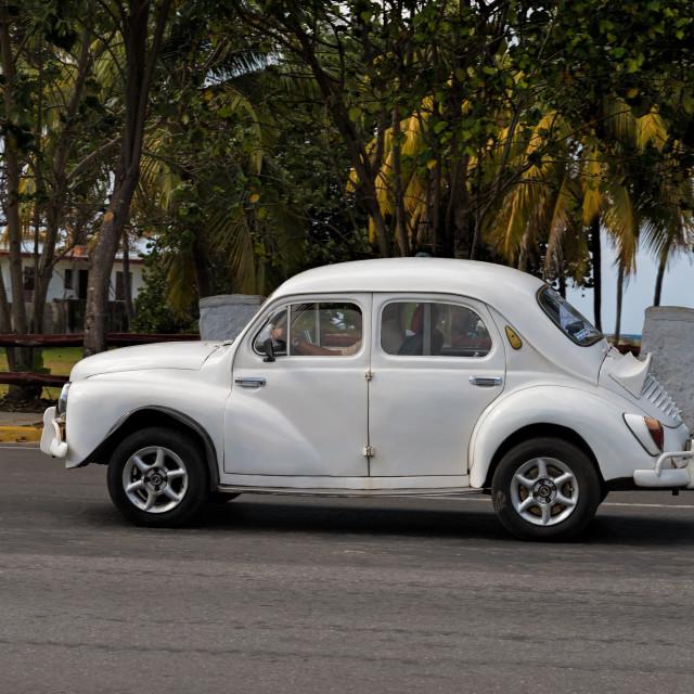 """Vintage Renault 4CV"" stock image"