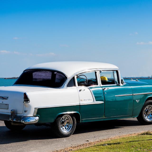 """Vintage American Car"" stock image"