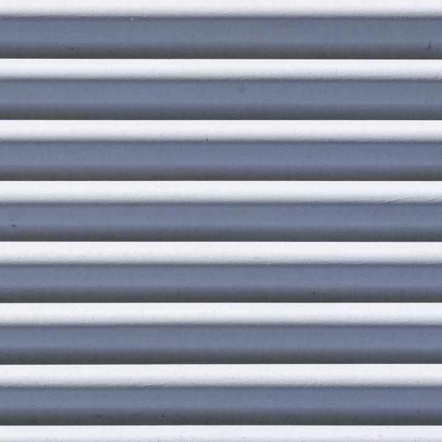 """Corrugated metal - panoramic"" stock image"