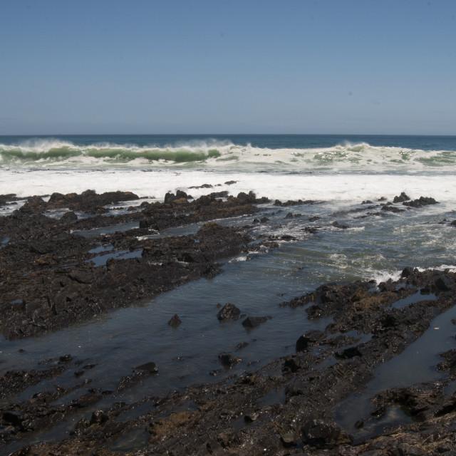 """Ocean in Cape town #1"" stock image"
