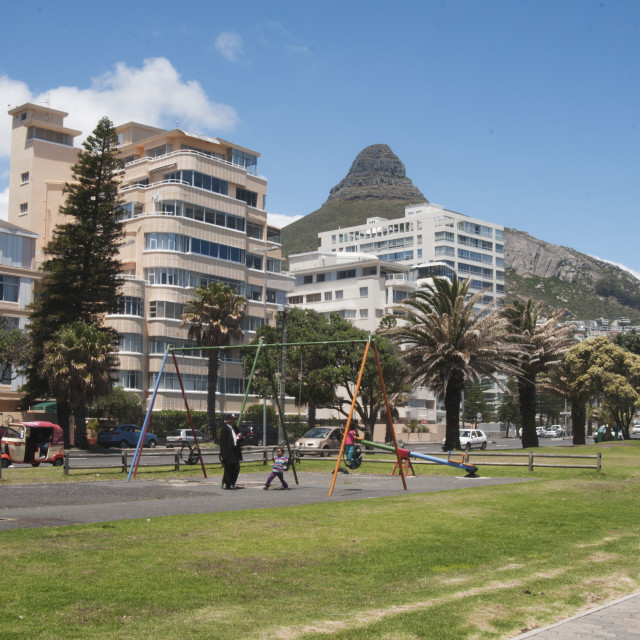 """""""Summer in Cape town"""" stock image"""
