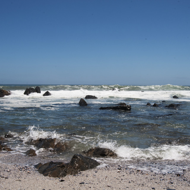 """Ocean in Cape town #3"" stock image"