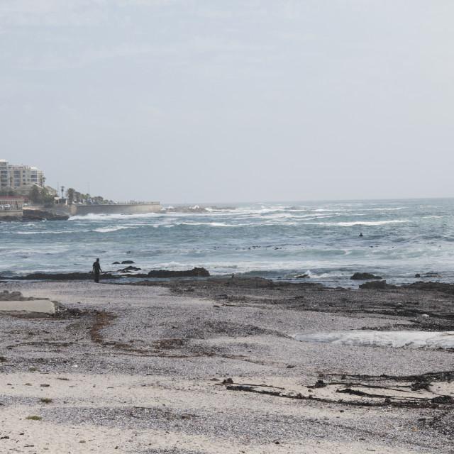 """Ocean in Cape town #5"" stock image"