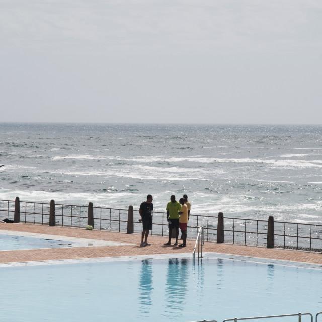 """Ocean in Cape town #6"" stock image"