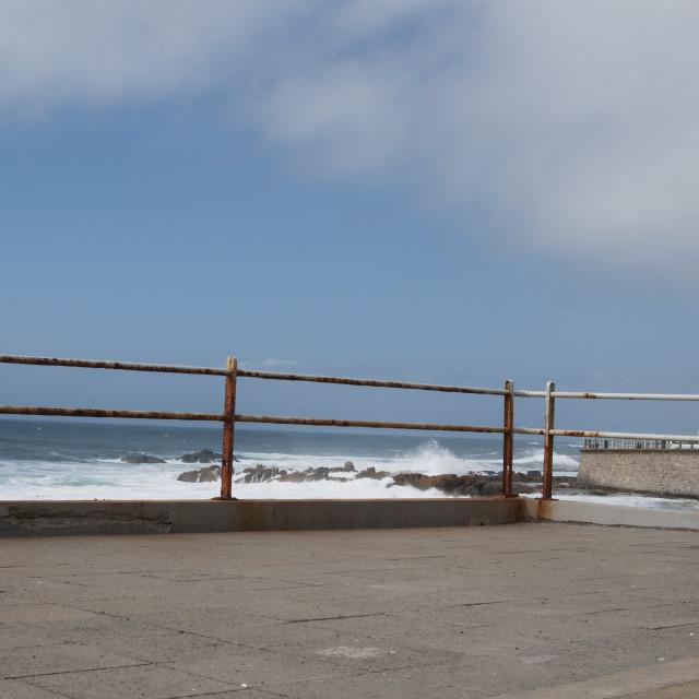 """Ocean in Cape town #7"" stock image"