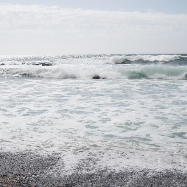 """Ocean in Cape town #8"" stock image"