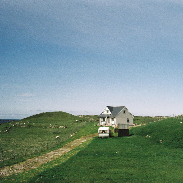 """Isle of Lewis #6"" stock image"
