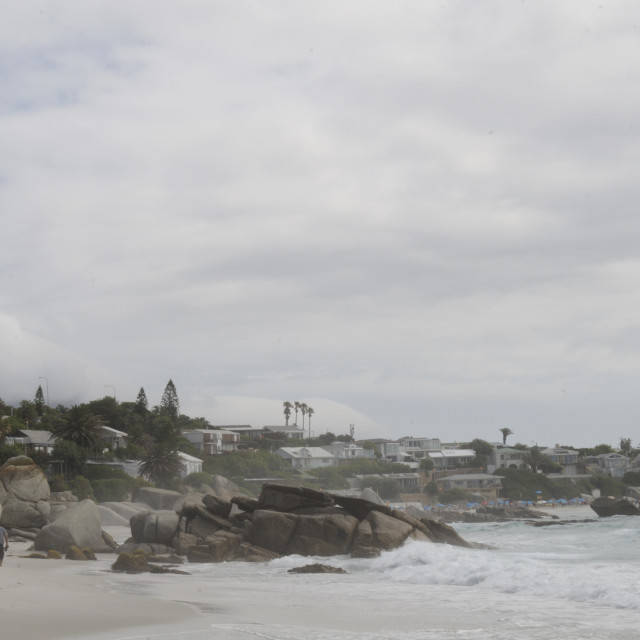 """Clifton Beach, Cape town #3"" stock image"