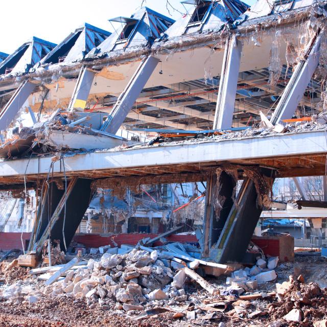 """Demolition 4"" stock image"