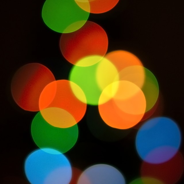 """bokeh lights"" stock image"