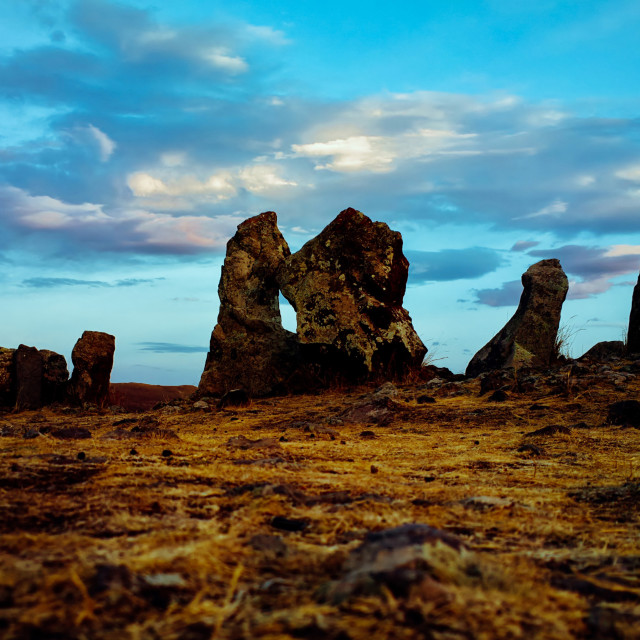 """""""Story of the stones (V.2)"""" stock image"""