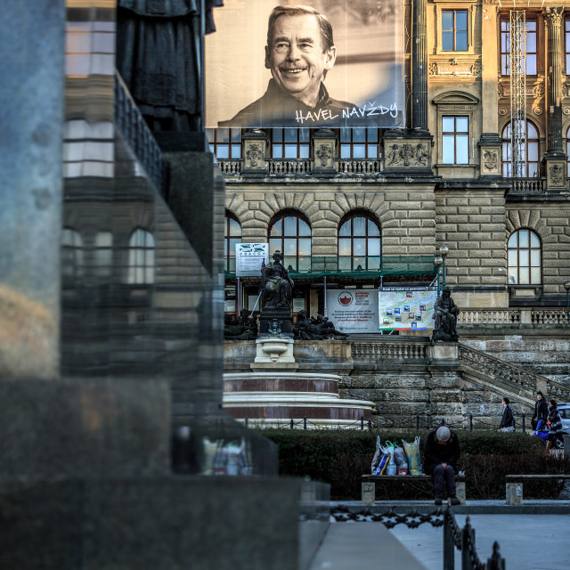 """National Museum, Prague"" stock image"