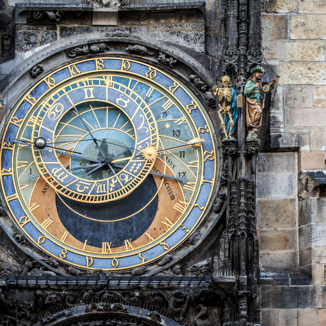 """""""Astronomical Clock, Prague"""" stock image"""