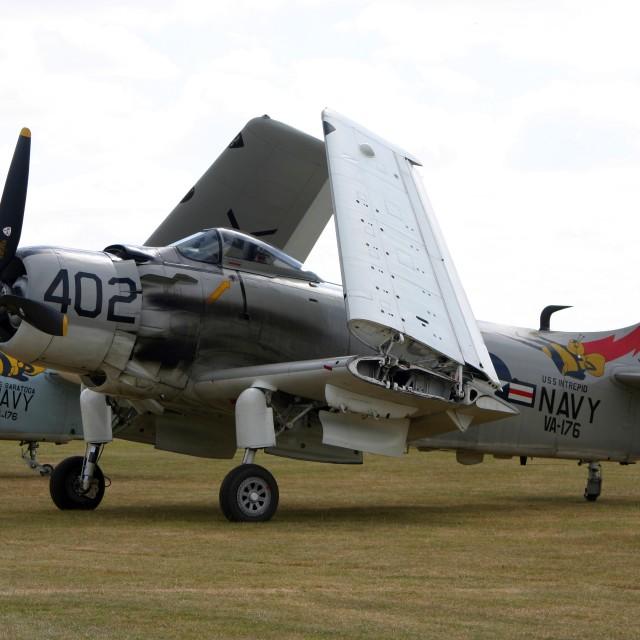 """""""Douglas Skyraider 26922"""" stock image"""