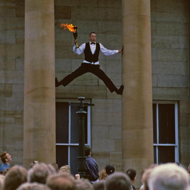 """""""Edinburgh Festival Fringe"""" stock image"""