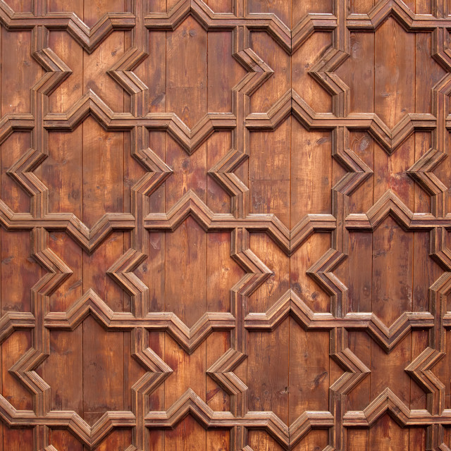 """Wooden Ceiling Background"" stock image"