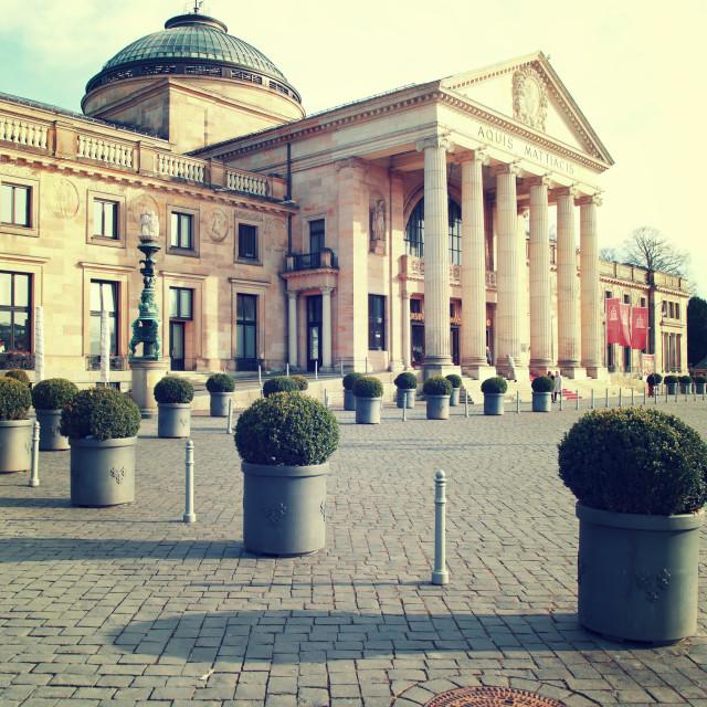 """""""Kurhaus Wiesbaden"""" stock image"""