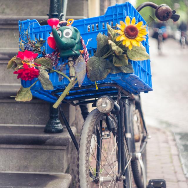 """Hippy Bike"" stock image"