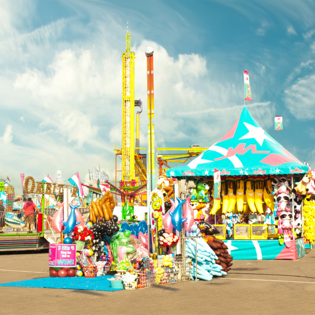 """fair midway"" stock image"