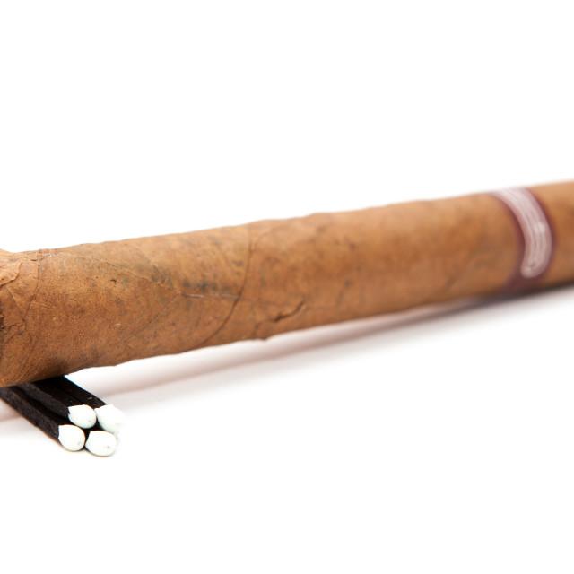 """""""Cuban Cigar"""" stock image"""