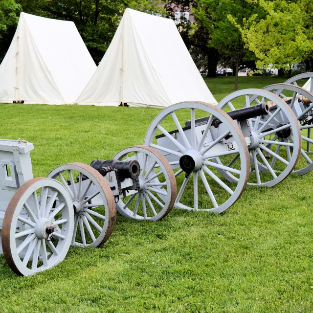"""Revolutionary War artillery"" stock image"