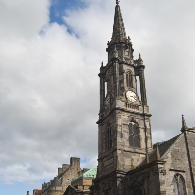 """Tron Kirk Edinburgh Scotland"" stock image"