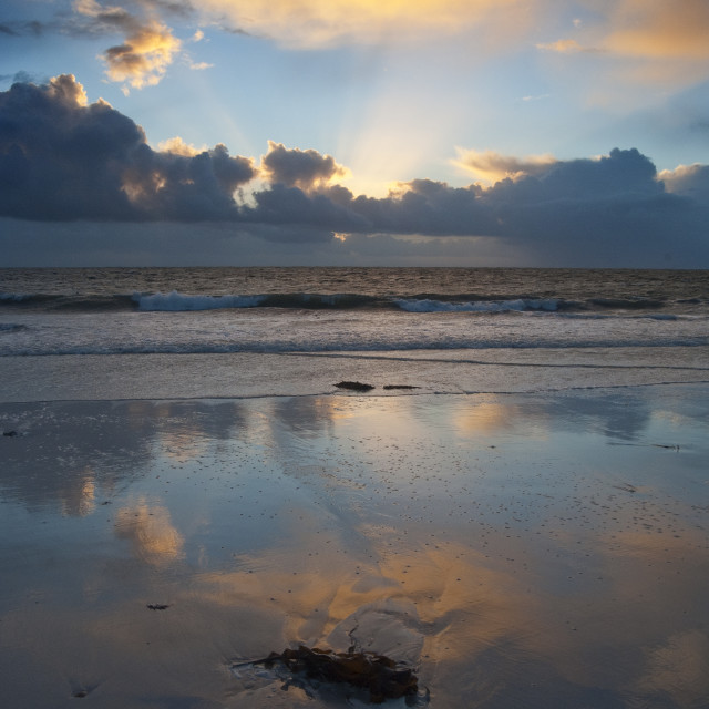 """""""South Uist Outer Hebrides Scotland"""" stock image"""
