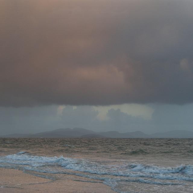 """South Uist Barra Outer Hebrides Scotland UK"" stock image"