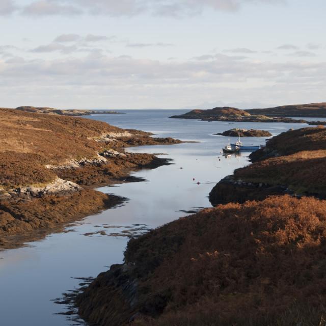 """Outer Hebrides Scotland"" stock image"