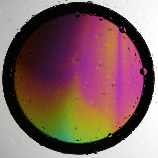 """Rainbow colours"" stock image"