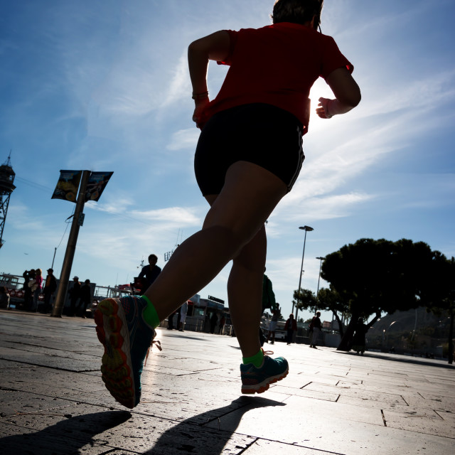 """""""Runner"""" stock image"""