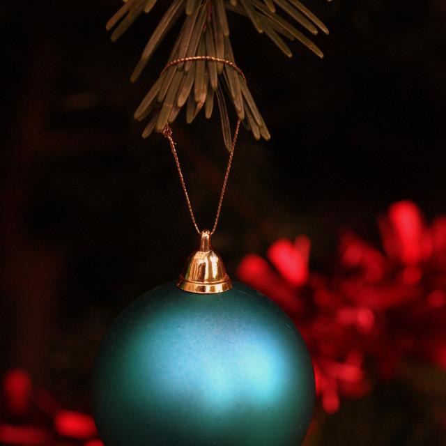 """Christmas Bauble"" stock image"