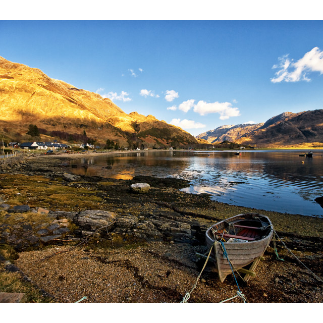 """Arnisdale Bay, Scotland"" stock image"