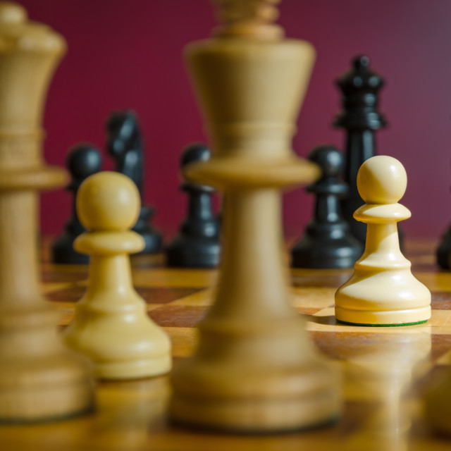 """""""Game Of Chess"""" stock image"""
