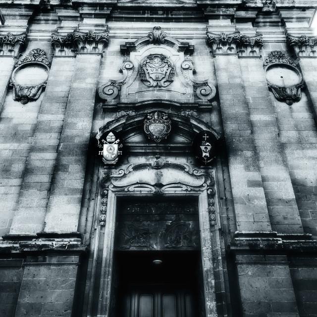 """Basilika San Gorg"" stock image"