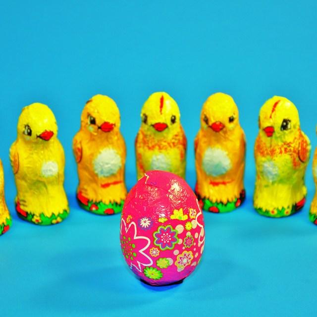 """Easter Chocolates"" stock image"
