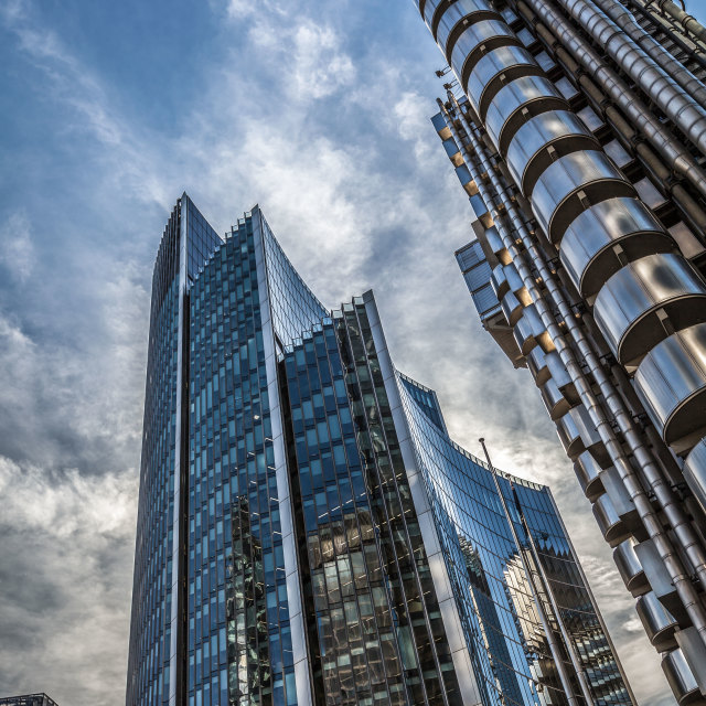 """Architecture in the City of London"" stock image"