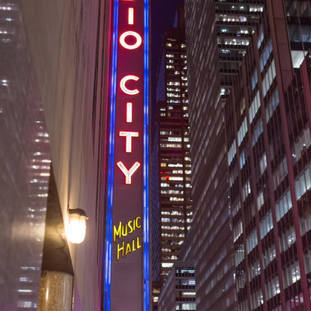 """Radio City"" stock image"