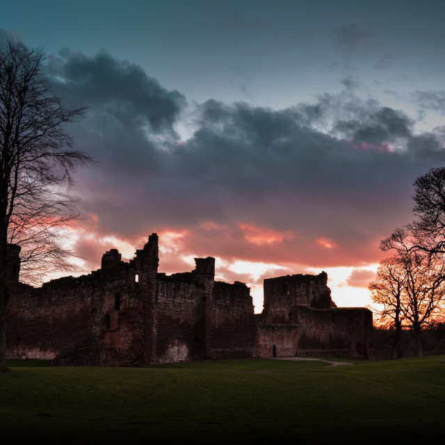 """Bothwell Castle"" stock image"