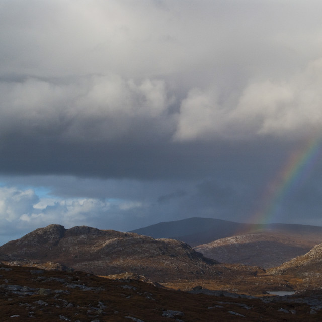 """Isle of Harris Scotland"" stock image"
