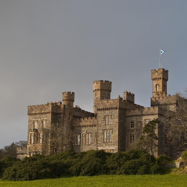 """Stornoway Castle Scotland"" stock image"