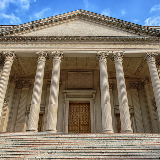 """Classical building"" stock image"
