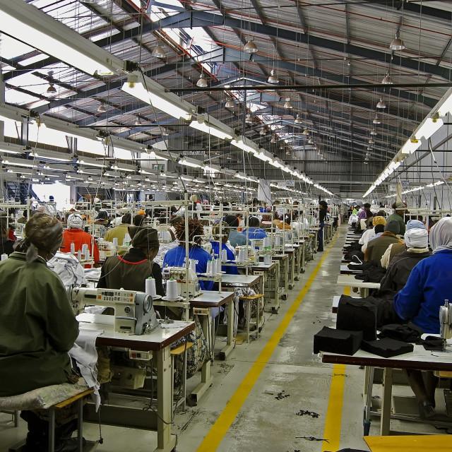 """DSC_9052- Garment Factory"" stock image"